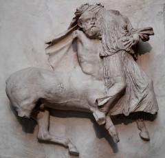tempelfrise fra Parthenon-tempelet, Akropolis, Athen,