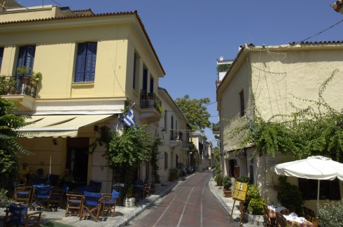 Plaka, Athen, Hellas