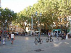 Place Forbin, Cours Mirabeau, Aix-en-Provence, Provence, Cote d'Azur, Sør-Frankrike, Frankrike