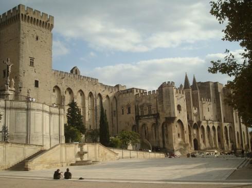 Avignon, Unescos liste over Verdensarven, Pavepalasset, Vieux ville, gamlebyen, middelalder, Rhône, Sør-Frankrike, Frankrike