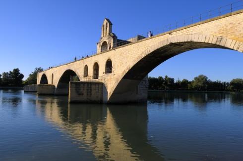Avignon, Unescos liste over Verdensarven, Pont St.-Bénezét, Pavepalasset, Vieux ville, gamlebyen, middelalder, Rhône, Sør-Frankrike, Frankrike
