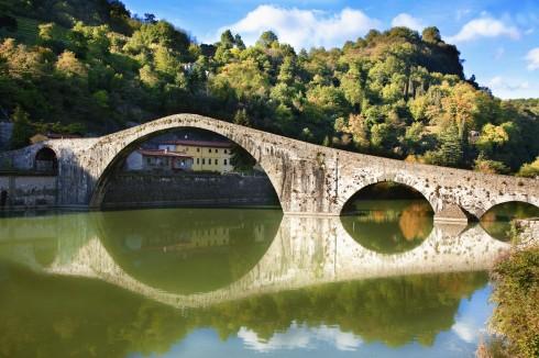 Garfagnana. Toscana, Midt-Italia, Italia