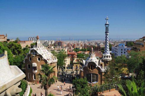Barcelona, Barrio Gotico, La Sagrada Familia, katalansk, Unescos liste over Verdensarven, Antoni Gaudi, Parc Guell, Catalunia, Spania