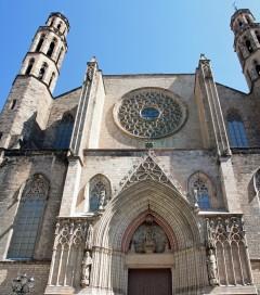 Santa Maria del Mar, Barrio Ghotico, Barcelona, katalansk, Unescos liste over Verdensarven, Catalunia, Spania