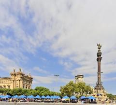 Columbusstøtten, Barcelona, katalansk, Unescos liste over Verdensarven, Antoni Gaudi, Guell, Catalunia, Spania