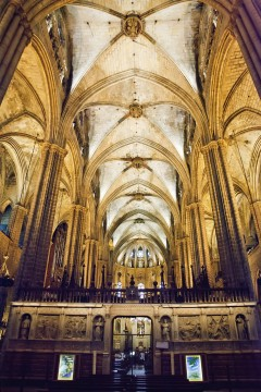 Barrio Ghotico, La Seu, Barcelona, katalansk, Unescos liste over Verdensarven, Antoni Gaudi, Guell, Catalunia, Spania