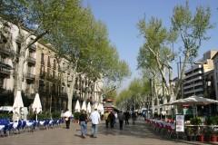 La Rambla, Plaza de Catalunia, Barcelona, katalansk, Unescos liste over Verdensarven, Antoni Gaudi, Guell, Catalunia, Spania