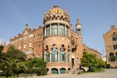 Hospital de la Santa Creu, Art Noveau, Barcelona, katalansk, Unescos liste over Verdensarven, Antoni Gaudi, Guell, Catalunia, Spania