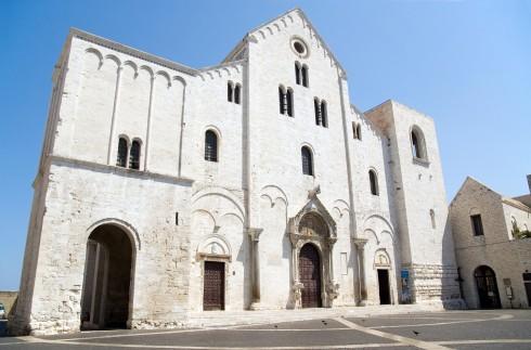 Basilica di San Nicola, Bari, historisk bysenter, normannere, gourmet, gamleby, gotikken, romansk, renessansen, barokken, Puglia, Sør-Italia, Italia