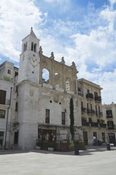 Bari, Palazzo del Sedile, Piazza Mercantile, historisk bysenter, normannere, gourmet, gamleby, gotikken, romansk, renessansen, barokken, Puglia, Sør-Italia, Italia
