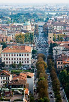 Bergamo Bassa og Po-sletten, Lombardia, Nord-Italia, Italia
