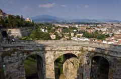 Bergamo Alta, Porta San Giacomo, Lombardia, Nord-Italia, Italia