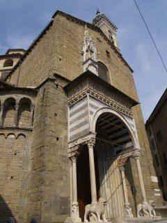 Santa Maria Maggiore, Bergamo, Lombardia, Nord-Italia, italia