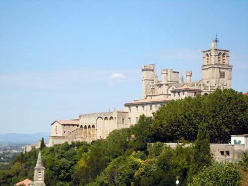 Cathédrale St Nazaire, Béziers, Languedoc, Sør-Frankrike, Frankrike