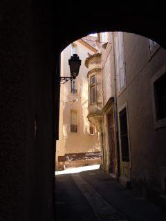 Gamlebyen, middelalder, Vieux Ville, Béziers, Languedoc, Sør-Frankrike, Frankrike