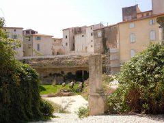 Cathédrale St Nazaire, Vieux Ville, Béziers, Languedoc, Sør-Frankrike, Frankrike