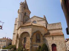 Église de la Madeleine, Vieux Ville, Béziers, Languedoc, Sør-Frankrike, Frankrike