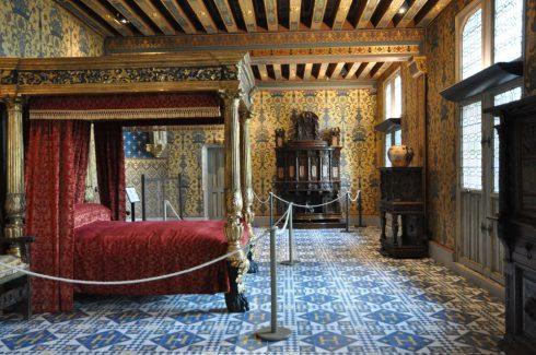Catharina de Medici, Blois, bindingsverk, Chateau de Blois, Vieux Ville, Loire, Loiredalen, Vest-Frankrike, Frankrike,