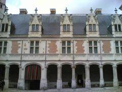 Blois, bindingsverk, Chateau de Blois, Vieux Ville, Loire, Loiredalen, Vest-Frankrike, Frankrike,