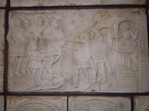Bobbio, middelalder, Columban, Emilia Romagna, Nord-Italia, Italia