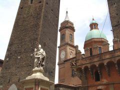 Basilika San Bartolomeo, Bologna, Unescos liste over Verdensarven, middelalderen, historiske bydeler, gamlebyen, Emilia-Romagna, Nord-Italia, Italia