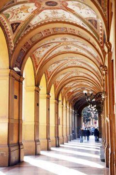Arkader, Bologna, Unescos liste over Verdensarven, middelalderen, historiske bydeler, gamlebyen, Emilia-Romagna, Nord-Italia, Italia