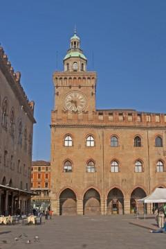 Piazza Comunale, Bologna, Unescos liste over Verdensarven, middelalderen, historiske bydeler, gamlebyen, Emilia-Romagna, Nord-Italia, Italia