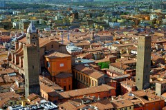 Metropolitana di San Pietro, Bologna, Unescos liste over Verdensarven, middelalderen, historiske bydeler, gamlebyen, Emilia-Romagna, Nord-Italia, Italia