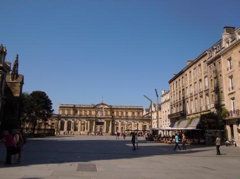 Hotel de Ville, Musée de Beau Arts, Bordeaux, Medoc, Unescos liste over Verdensarven, Vieux ville, gamlebyen, middelalder, Sør-Frankrike, Frankrike
