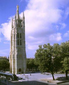 Tour Pey Berland , Bordeaux, Medoc, Unescos liste over Verdensarven, Vieux ville, gamlebyen, middelalder, Sør-Frankrike, Frankrike
