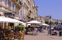 Quais des Chartrons, Bordeaux, Medoc, Unescos liste over Verdensarven, Vieux ville, gamlebyen, middelalder, Sør-Frankrike, Frankrike