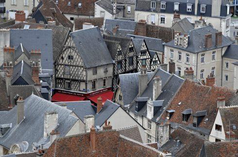Bourges, bindingsverk, Vieux Ville, Unescos liste over Verdensarven, Vest-Frankrike, Frankrike