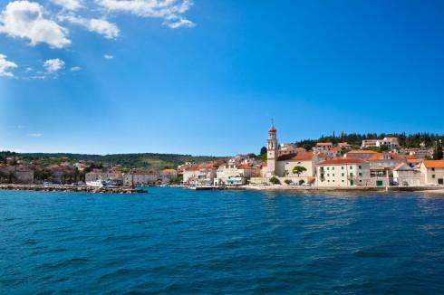 Pucisca, Brac, Dalmatia, Makarskakysten, Split og øyene, Kroatia