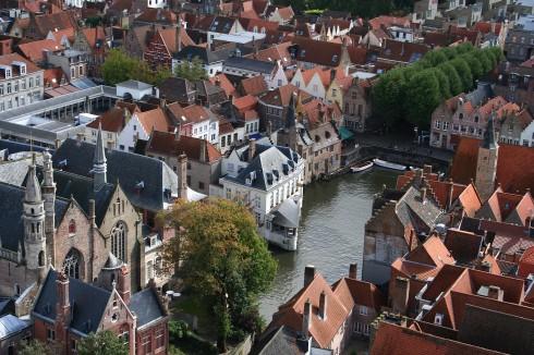 Brügge, kanaler, Markt, historisk, Unescos liste over Verdensarven, øl, bryggerier, gourmet, gamleby, gotikken, renessansen, barokken, Flandern, Belgia