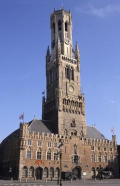 Belfry, Brügge, kanaler, Markt, historisk, Unescos liste over Verdensarven, øl, bryggerier, gourmet, gamleby, gotikken, renessansen, barokken, Flandern, Belgia