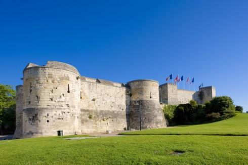 Château de Caen, Caen, bindingsverk, Vieux Ville, Unescos liste over Verdensarven, Normandie, Vest-Frankrike, Frankrike