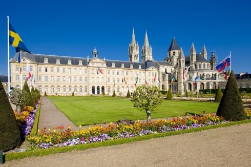 Abbaye aux Hommes, St.-Etienne, Caen, bindingsverk, Vieux Ville, Unescos liste over Verdensarven, Normandie, Vest-Frankrike, Frankrike