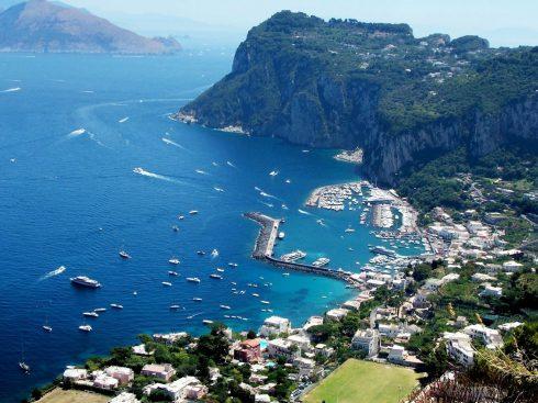Capri, Sør-Italia