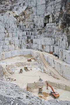 Carrara, marmor, Toscana, Midt-Italia, Italia