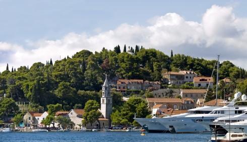 Cavtat, Dubrovnik-området, Kroatia