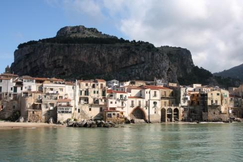 Cefalu, Sicilia, normannisk, Sør-Italia, Italia