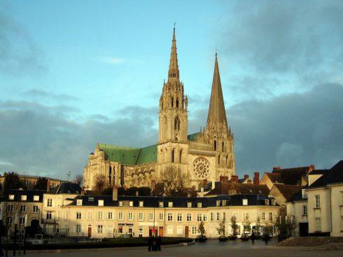 Cathédrale Notre Dame, Unescos liste over Verdensarven, Vieux ville, gamlebyen, Loire-dalen, Frankrike