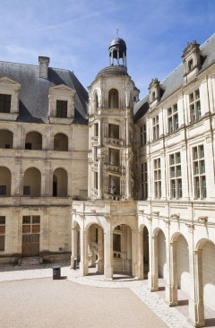 Chateau de Chambord, Loiredalen, Loire, Vest-Frankrike, Frankrike