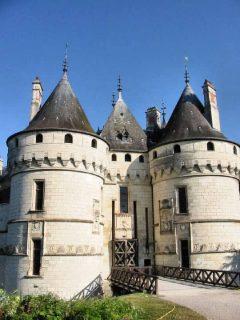 Château de Chaumont, Loiredalen, Loire, Vest-Frankrike, Frankrike