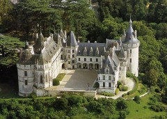 Château Chaumont, Loiredalen, Loire, Vest-Frankrike, Frankrike