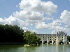 Saumur, Château Chenonceau, Loiredalen, Loire, Vest-Frankrike, Frankrike