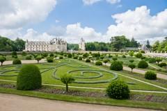 Château de Chenonceau, Loiredalen, Loire, Vest-Frankrike, Frankrike