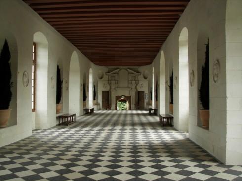 Château Chenonceau, Loiredalen, Loire, Vest-Frankrike, Frankrike