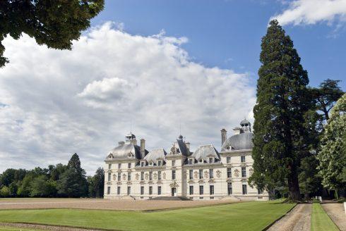 Château de Cour-Cherverny, Loiredalen, Loire, Vest-Frankrike, Frankrike
