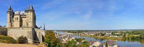 Saumur, Loiredalen, Loire, Vest-Frankrike, Frankrike